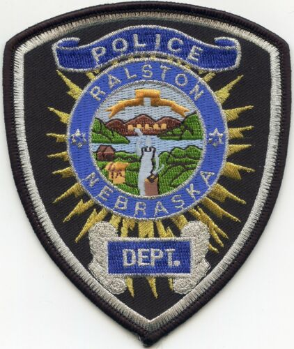 RALSTON NEBRASKA NE POLICE PATCH