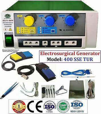 Electro Surgical Generator 400 For Digital Power With All Around Capabilities