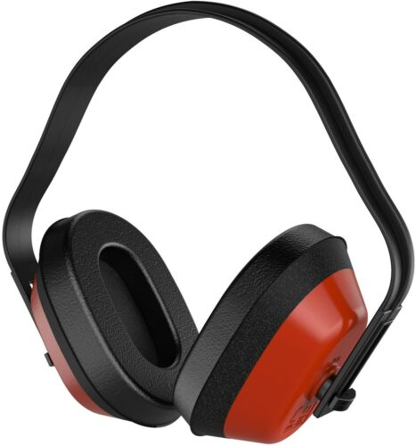 Forester Safety Ear Muffs, NRR 28 dB, Adjustable, ANSI S3.19-1974 Approved