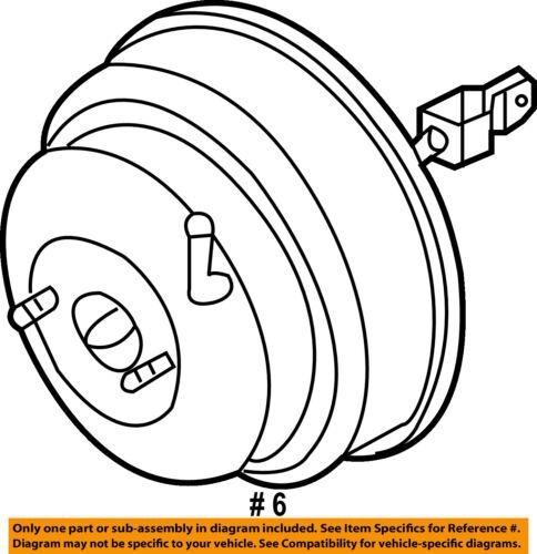 Infiniti Nissan Oem 05 06 G35 Power Brake Vacuum Booster 47210ac425