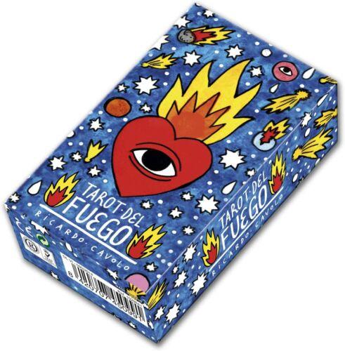 Tarot del Fuego Tarot Deck 78 Cards by Ricardo Cavolo with Digital Guidebook