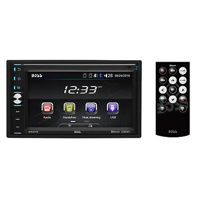 "Boss Double-DIN 320W 6.5"" Touchscreen Bluetooth Car Multimed"