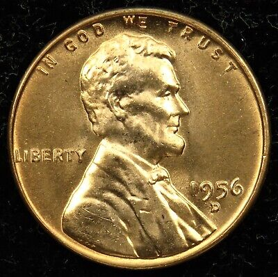 1956 D Lincoln Wheat Cent • # 818 • Buy 8 Get 60/% Off