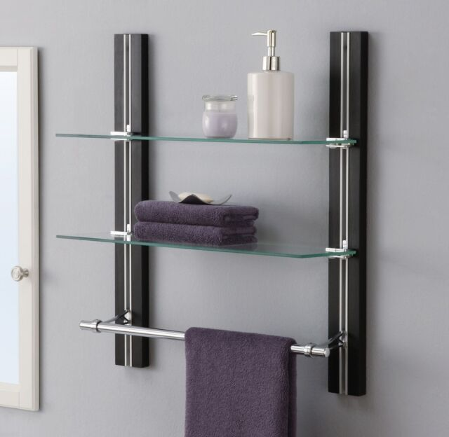 best bathroom decor bathroom towel shelves wall mounted bathroom shelf organizer glass towel rack bar