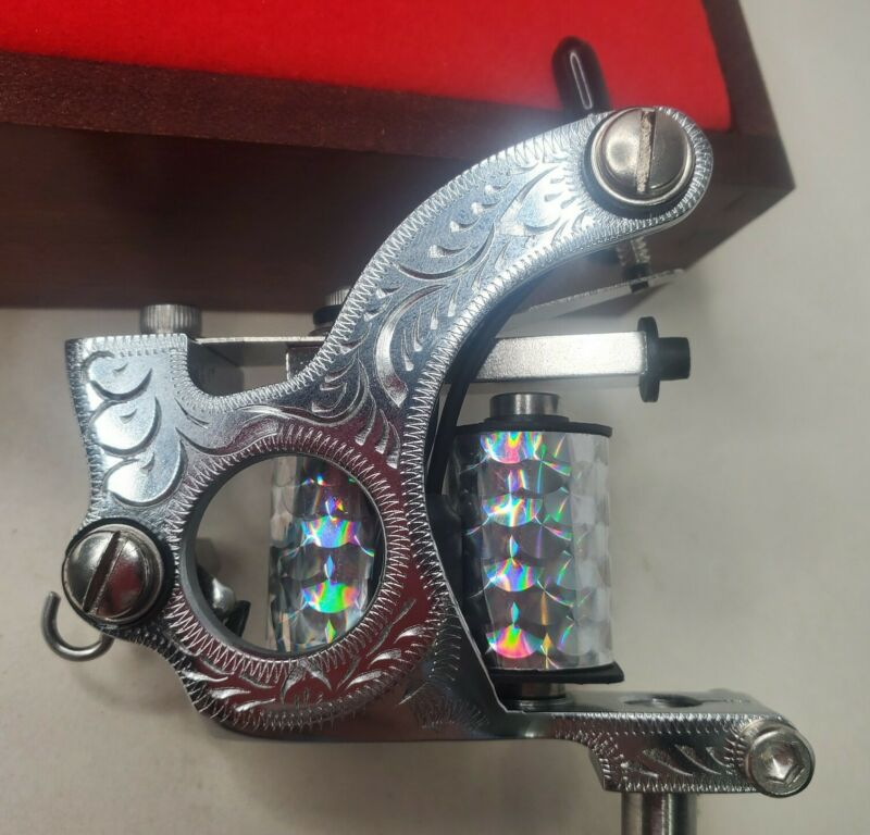 Spaulding & Rogers Supreme Deluxe Tattoo Machine Classic Liner 8 wrap coils