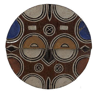 Mask African Teke Kidumu Congo Art Tribale First Primitive Africa 6415