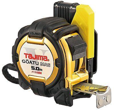 (Tajima Design Measuring Tape 5m Shock Absorber GOATU MAG GASFG3GLM25-50BL Japan)