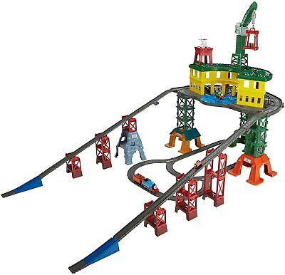 Thomas & Friends Super Station Railway Train Track Set Fisher-Price