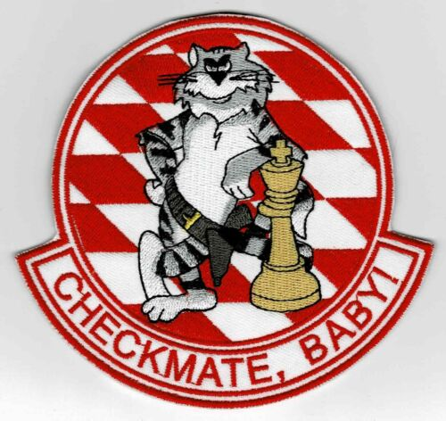 """F-14 Tomcat """"Checkmate, Baby!"""" patch"""