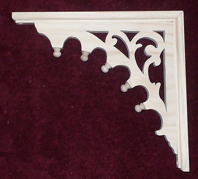 "Victorian Gingerbread Fretwork Bracket ~ Corbel { 13"" x 12"" } ~ by PLD"