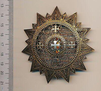 ETHIOPIA Order of the STAR Grand CROSS breast Plate ETHIOPIAN Menelik II Emperor