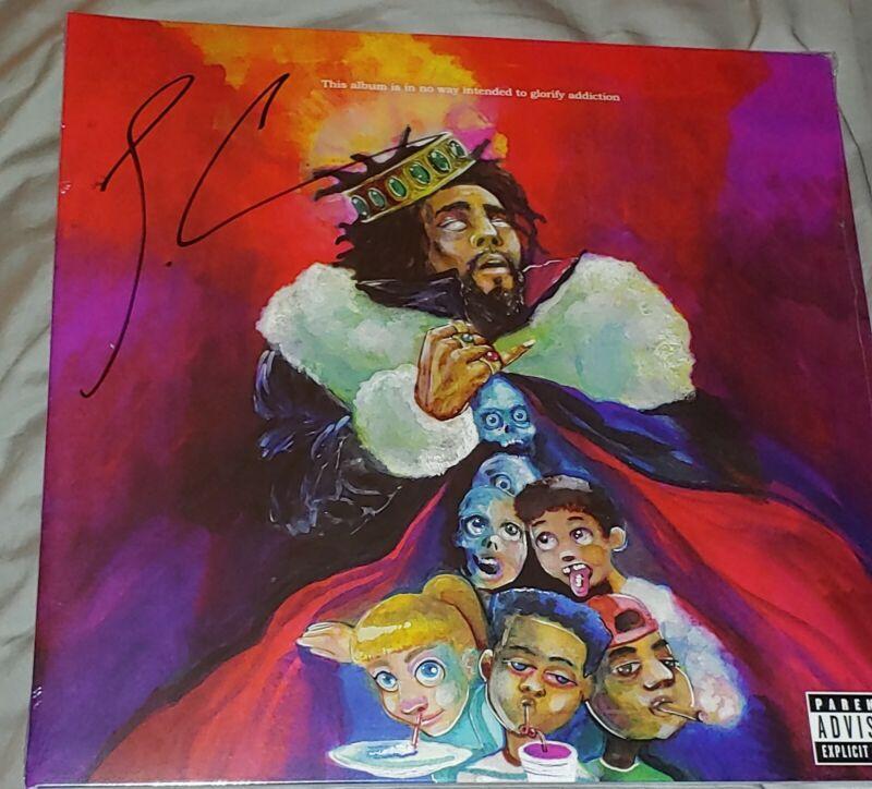 J. COLE signed KOD album record LP autographed J Cole