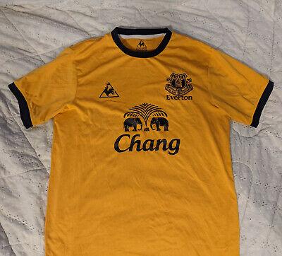 Everton Jersey 2011 2012 Away M Shirt Mens Football Soccer Le Coq Sportif image