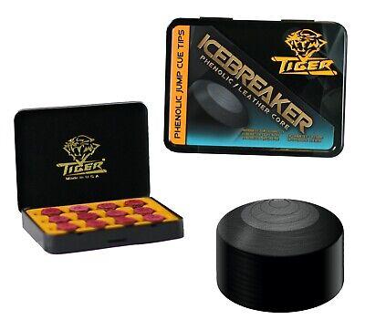 1 Tip Phenolic Magic Tip Pool Cue Tips 14mm Hard w// FREE Shipping