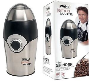 Wahl James Martin ZX595 Coffee Spice Grinder 10 Cup 70g Capacity Food Processor