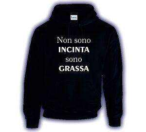 felpa-cappuccio-cotone-nera-bianca-con-scritta-NON-SONO-INCINTA-SONO-GRASSA
