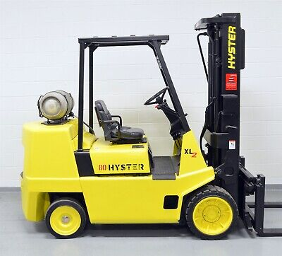 Nice Hyster 8000 Lb Lpg Forklift 8000 S80xl Work Ready