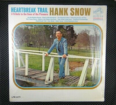Hank Snow ‎– Heartbreak Trail (RCA Victor ‎– LPM-3471)