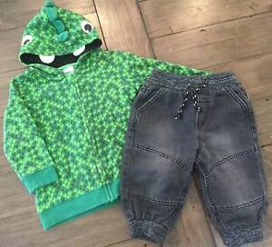 H&M Jacket and Jeans - Size 6-12 months