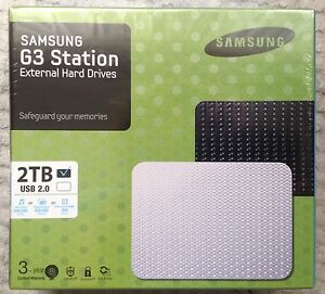 NEW 2TB Samsung G3 Station External Hard Drives Armidale Armidale City Preview