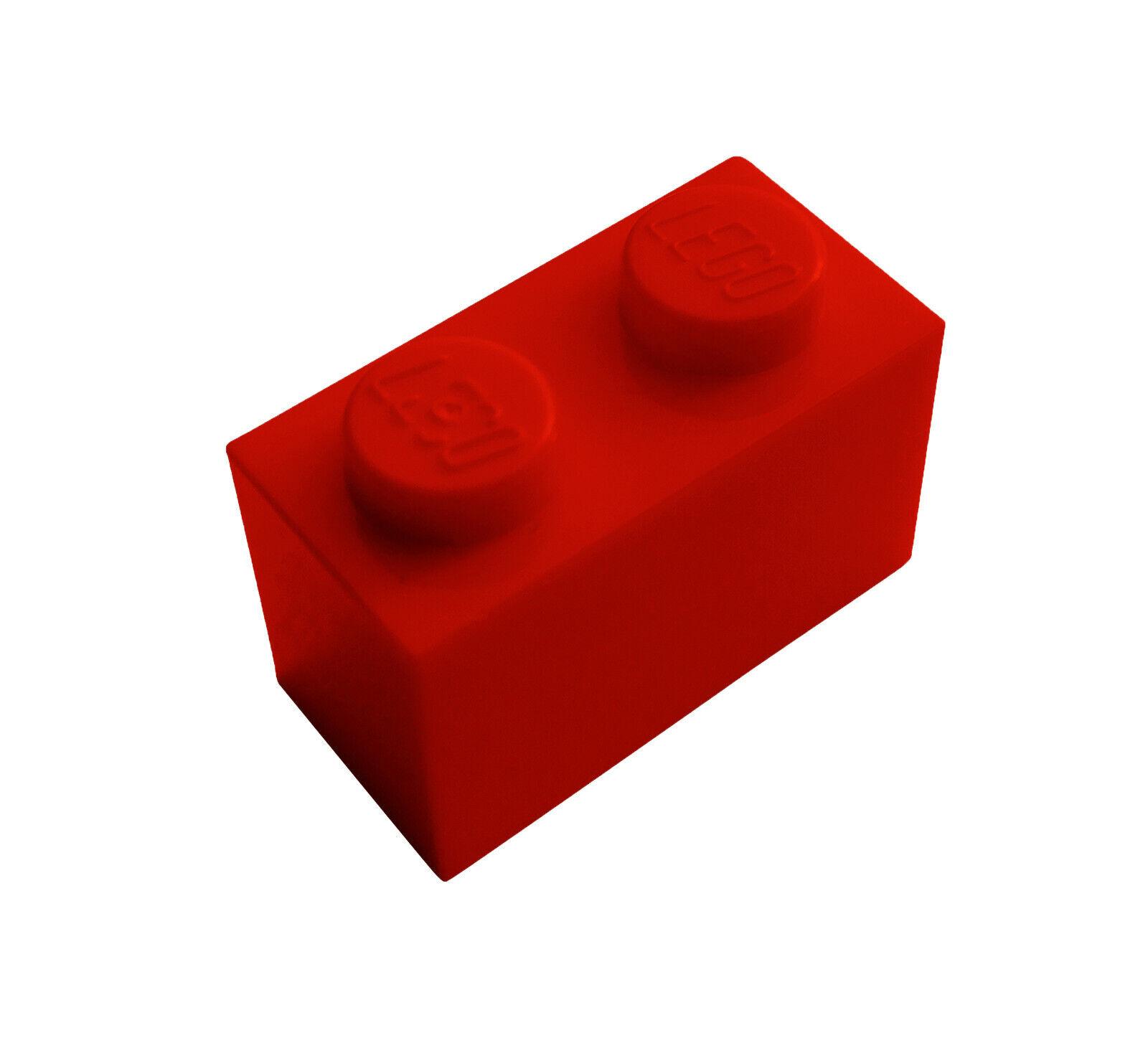 Lego 10 Stück rote Steine 1x8 Neu Stein in rot City Basics Baustein 3008