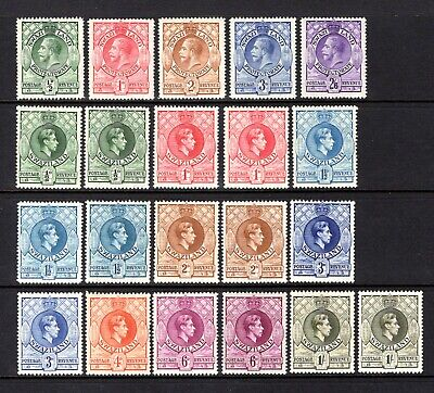 SWAZILAND KGV 1933 TO 2/6 + KGV1 1938 LIGHTLY & MOUNTED MINT RANGE CAT £121+
