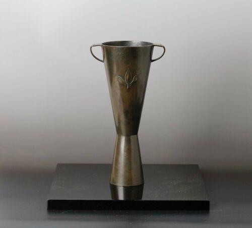 Japanese  Antique Beautiful  Shape  Bronze Vase  KK63