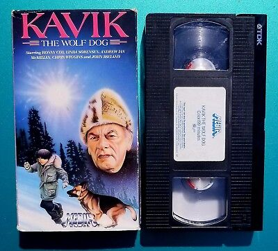 Kavik the Wolf Dog vhs Media video tested Good condition 1984 ronny cox RARE