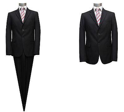 Slim-fit Anzug Muga Gr.44 Schwarz