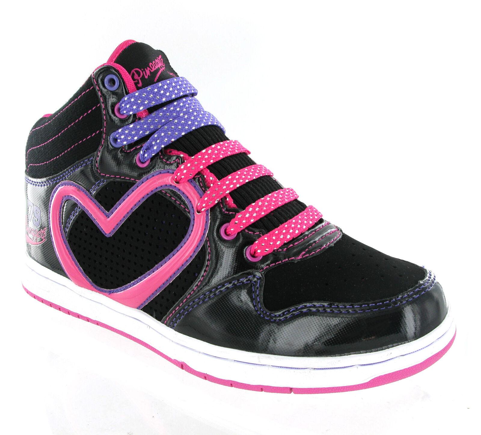 Femme Cheville Filles Hi High Tops Baskets Femmes Danse Baseball Bottes Cheville Chaussures