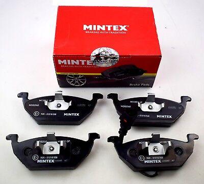 MINTEX FRONT AXLE BRAKE PADS AUDI SEAT SKODA VW MDB2040 (REAL IMAGE OF PART)
