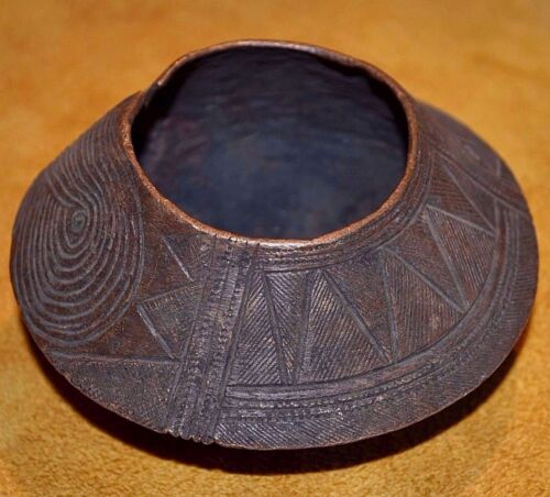 Antique African Bassa Tribal People Copper Metal Anklet Currency Liberia, Africa