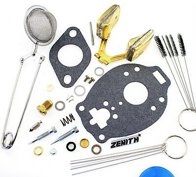 Genuine Marvel Schebler Carburetor Kit Fits Continental F163 Welder Tsx991  R87