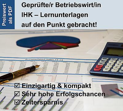 Betriebswirt IHK-Prüfungsvorbereitung/ Lernunterlagen von Dozenten, Startangebot