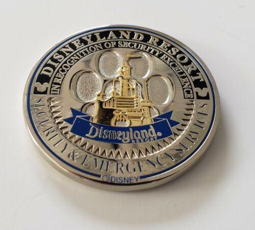 Disney Disneyland Security K9 EDD Explosive Detection Challenge Coin