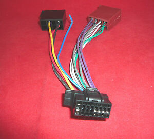 ct21so02 sony 16 pin iso new style wiring harness lead cable adapter cdx gt470um ebay