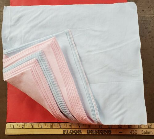 100 New Shop Cleaning Rags / Towels Soft 100% Cotton 12x14 Towel Premium Cloth