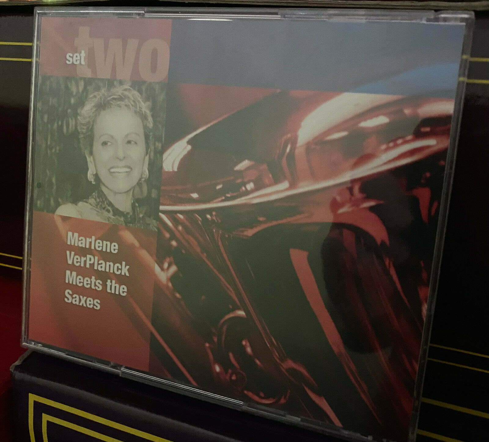 Marlene VerPlanck Meets The Saxes - Rare Privately Produced Concert Recording - $33.00