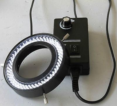New 144 Led Microscope Ring Light Illuminator For Meiji Emz Emf Emt Rz