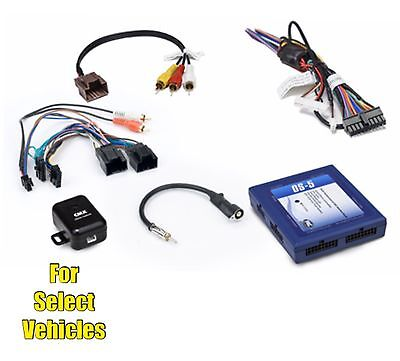 Car Stereo Radio Replacement Wire Harness OnStar Adapter Interface for select GM Car Stereo Wire Adapter
