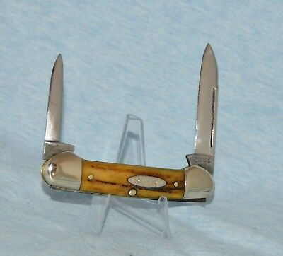 RARE VINTAGE CASE XX STAG CANOE KNIFE 52131 LP 1940-48 BOOK $1500.00