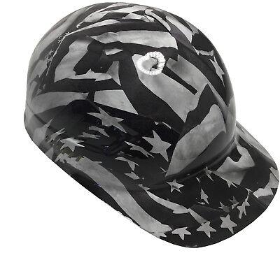 Hydro Dipped Bump Cap White Midnight Flags High Gloss W Free Brb Tshirt