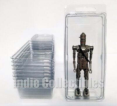 STAR WARS BLISTER CASE LOT 10 Action Figure Display Protective Clamshell LARGE