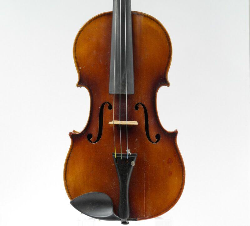 Old 4/4 German Violin For Restoration