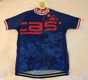 Castelli logo cycling jersey - new with tags