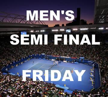 ★ AUSTRALIAN OPEN 2016 TENNIS TICKETS ★ MENS SEMI FINAL FRIDAY Melbourne CBD Melbourne City Preview