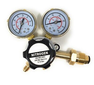 Nitrogen Regulator 3000 Psi - Cga580 Inlet And 14-inch Male Outlet Gas Hvac