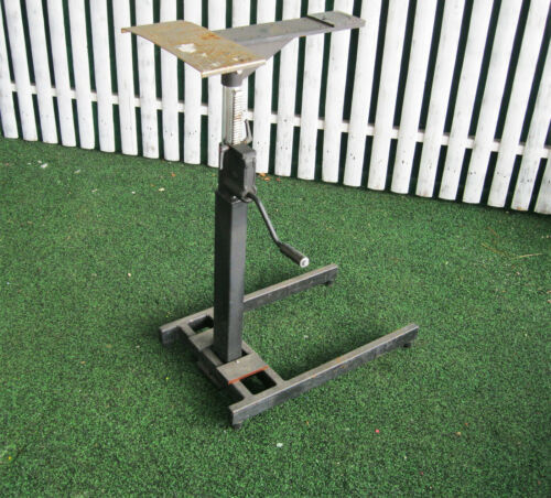 ADJUSTABLE LIFT STAND  TABLE STREAMFEEDER  SCULPTURE STAND