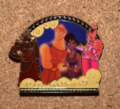Hercules & Megara Frame Disney Pin 135175 DS - November 2018 Park Pack Version 2