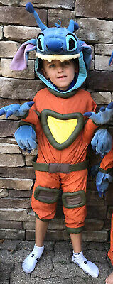 Disney Store Lilo And Stitch 626 Costume Full Body Kids XS 4 5 Halloween